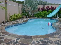 Cocoa Beach Fiberglass Pool in Riegelwood, NC