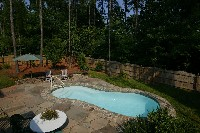 Cocoa Beach Fiberglass Pool in Leland, NC