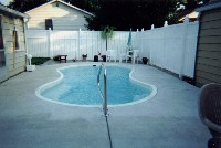 Cocoa Beach Fiberglass Pool in Atkinson, NC