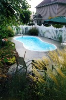 Cocoa Beach Fiberglass Pool in Holly Ridge, NC