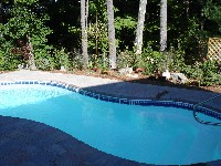 Cocoa Beach Fiberglass Pool in Castle Hayne, NC