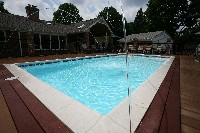 Monte Carlo Fiberglass Pool in Rocky Point, NC