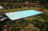 Monte Carlo Fiberglass Pool in Kure Beach, NC