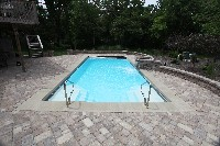 Monte Carlo Fiberglass Pool in Southport, NC