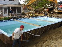 Monte Carlo Fiberglass Pool in Maple Hill, NC